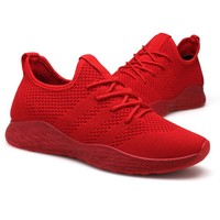 high quality latest sneakers for men running casual mens sport shoes red