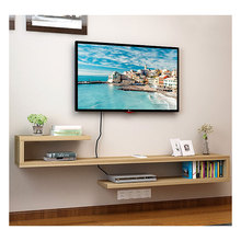 Moderne Wandmontage <span class=keywords><strong>Media</strong></span> Console Multifunctionele Drijvende Tv Stand <span class=keywords><strong>Plank</strong></span>