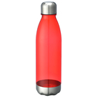 Amazon Hot Sale Cola Plastic eco friendly water bottles sports with stainless steel lid