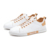 Casual Trainers Low Top Chic Men Flat Pu Leather Skateboarding Shoes