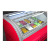 Ice cream cabinet commercial frozen hard ice cream glass display cabinet self-service hard ice cream refrigerator