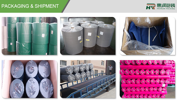 China fabric manufacturer cheap price pp non woven fabric for shopping bag raw material