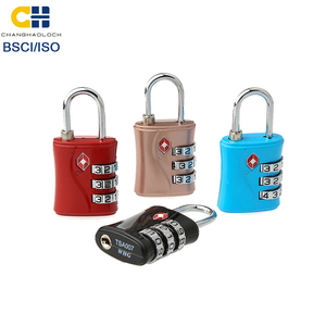 TSA-554 Safety cheap travel Custom combination 3-Digit Code Lock luggage lock travel lock