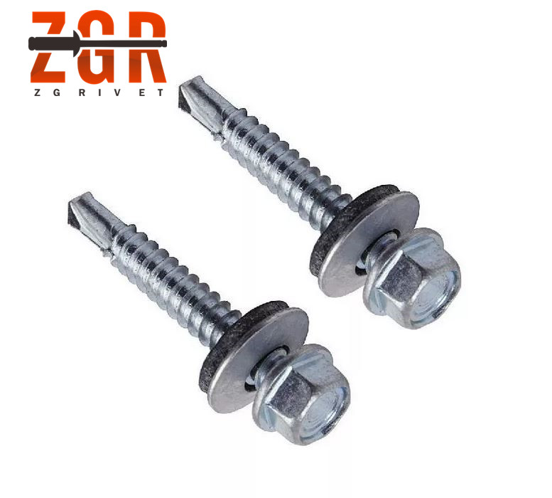 Supply Hex Head Self Drilling <strong>Screws</strong> with EPDM Washer