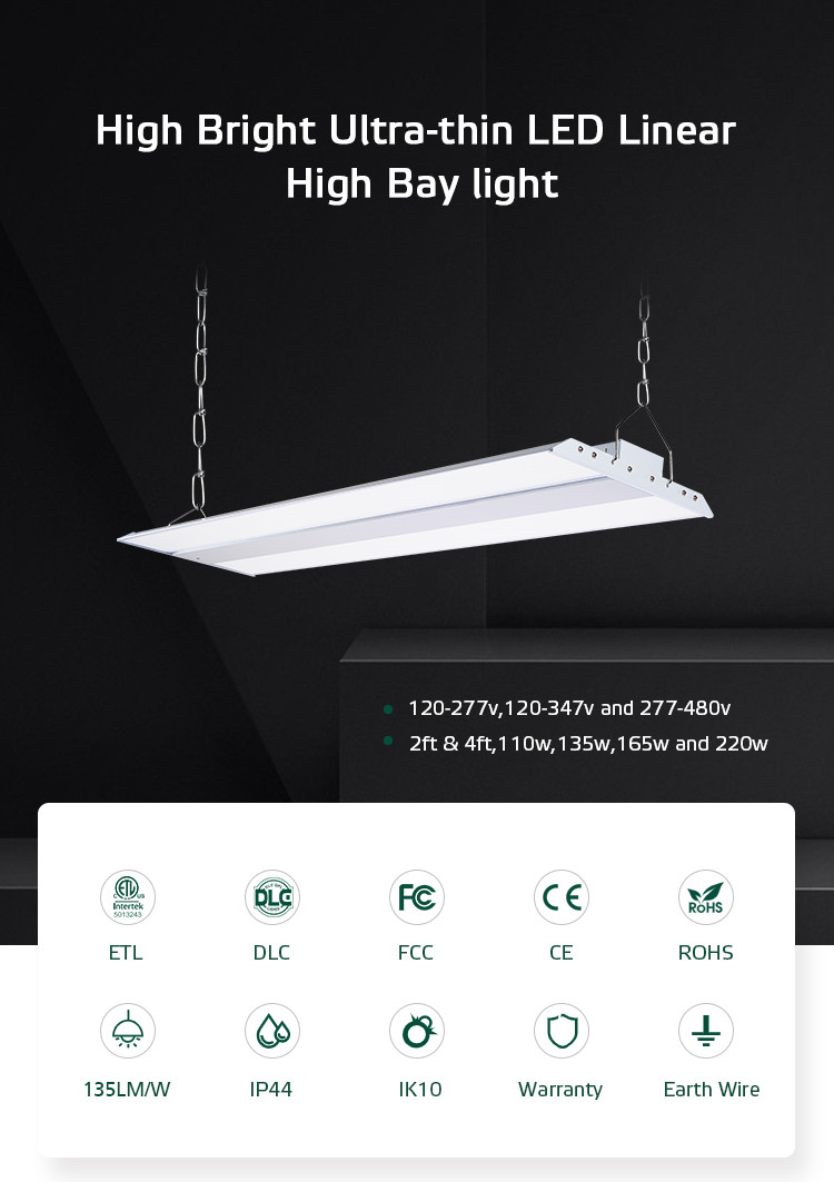 Wholesale ETL CETL DLC PREMIUM 0-10V Dim 135w 18000 lumen Led High Bay Light For Factory