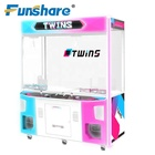 new design coin operated game machine crane machine for 2 players