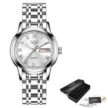 LIGE модные женские часы золотые синие женские часы-браслет Reloj Mujer 2020 Новые Креативные водонепроницаемые кварцевые часы для женщин + коробка(China)