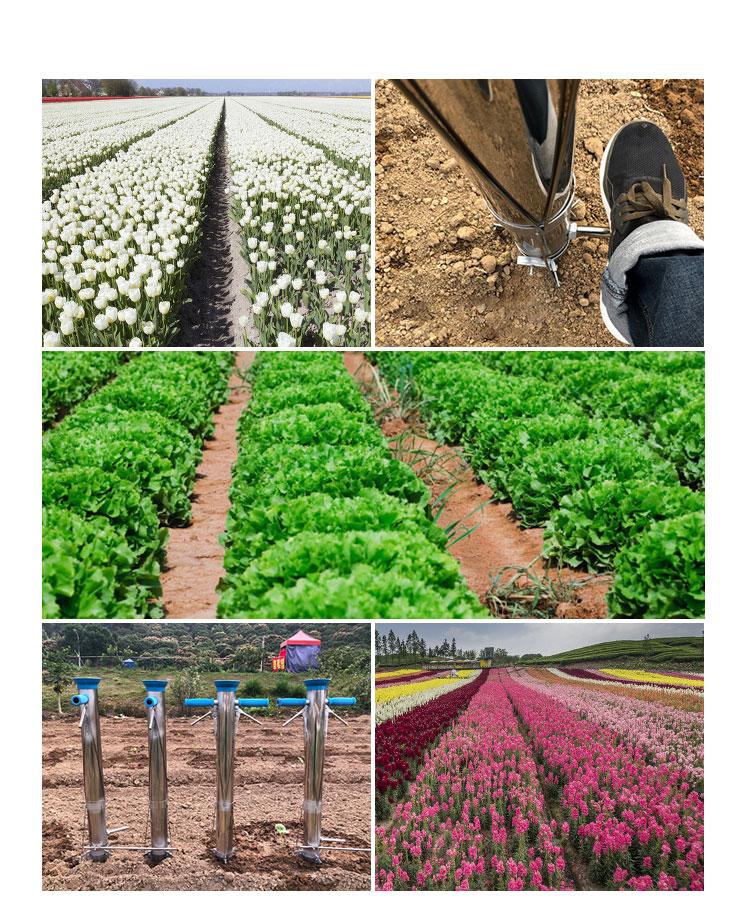 7.6 Cm Handleiding Zaailing Plantmachine Zaad Machine Planter Maïs Zaad Zaaimachine