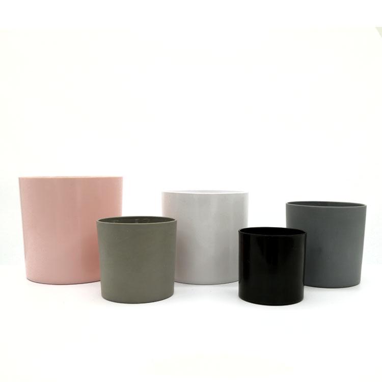 Cylindrical deask simulation ornamental plastic flowerpot,flower pots for livingroom