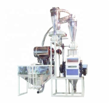 Professional Corn Grits Grinding Machine Mini Flour Maize Roller Mill Cheap Price In Pakistan