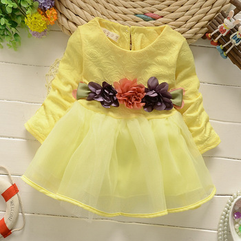 Summer kids clothes casual dress fashion princess dress girl clothing