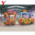 Yueton High Quality Kids Outdoor Amusement Park Rides Zoo Pirate Theme Electric Tourist Track Train For Sale