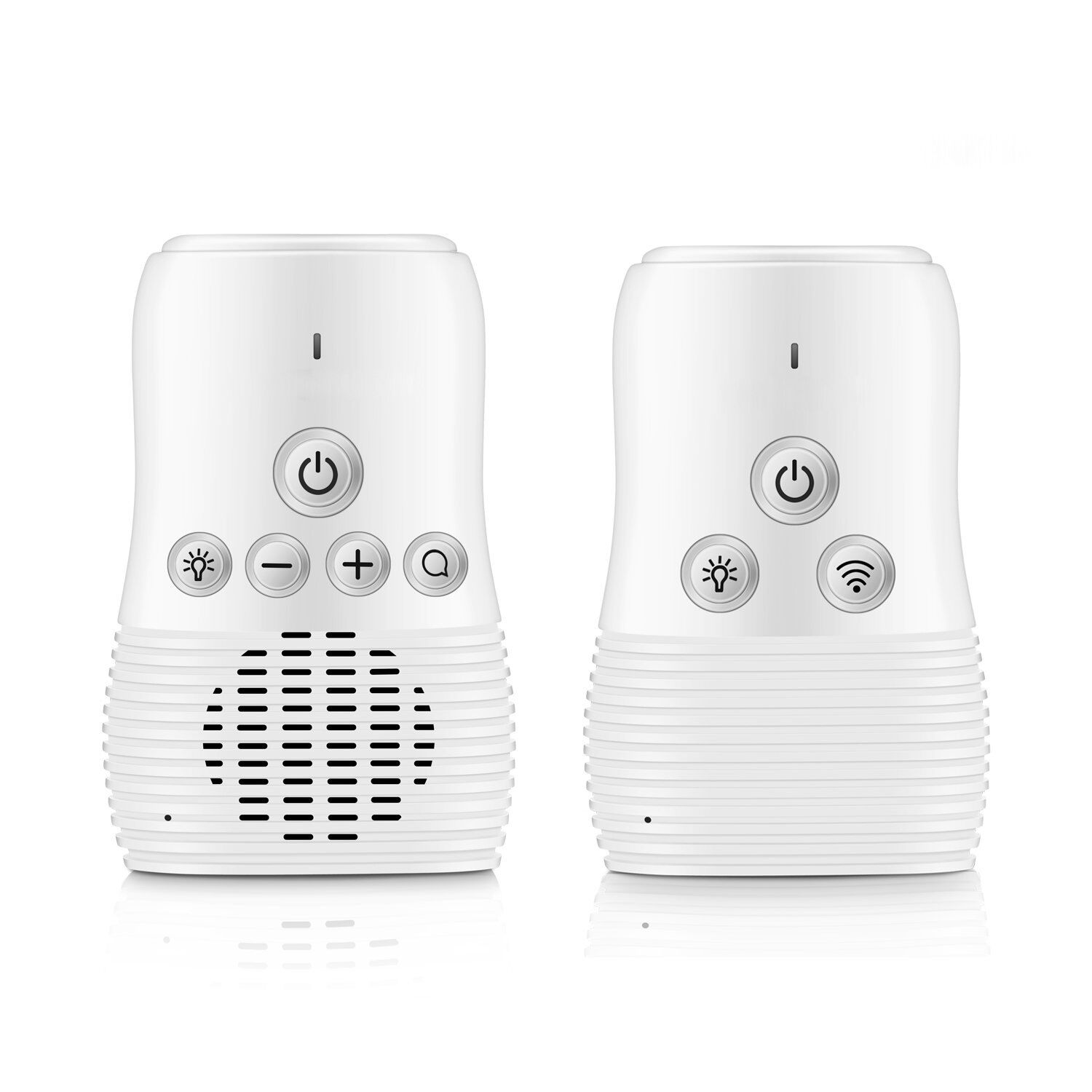 Two Way Talk Digital Audio Baby Monitor with Rechargeable Battery USB Connection Portable Baby Care
