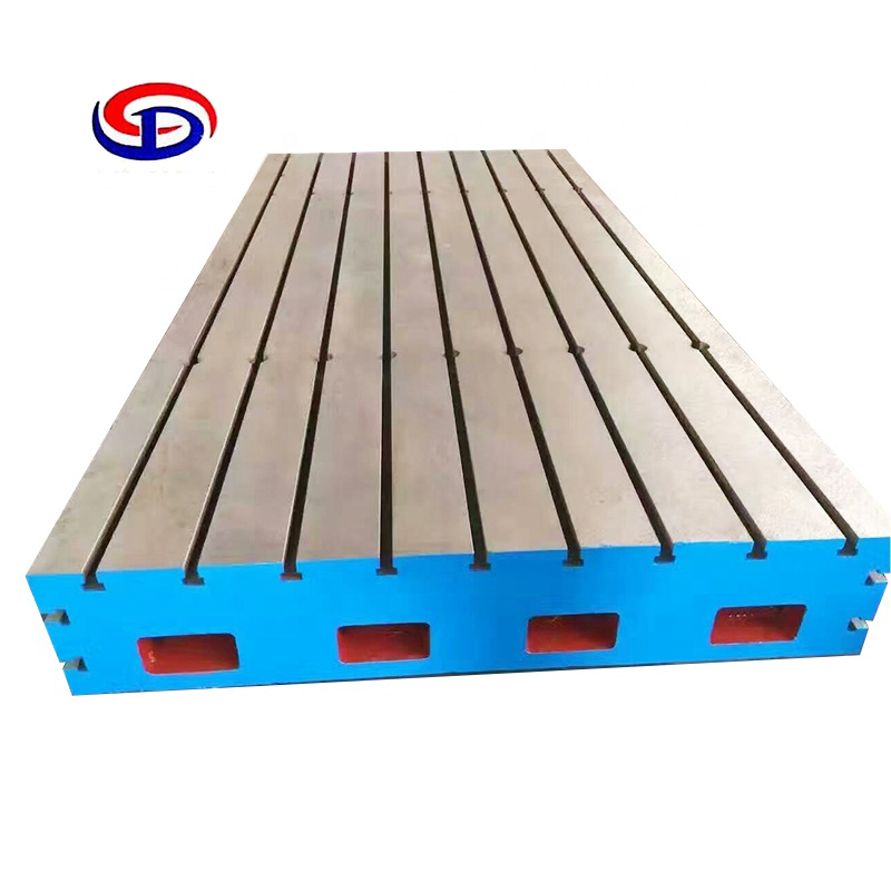 china 3d welding work platform manufacturer produce different grade t <strong>v</strong> u slots cast iron surface plate