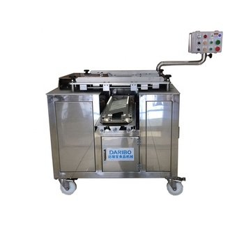Fresh Meat Bevel Angle Slicer Machine Seafood Cutting Machine Chicken Cutter