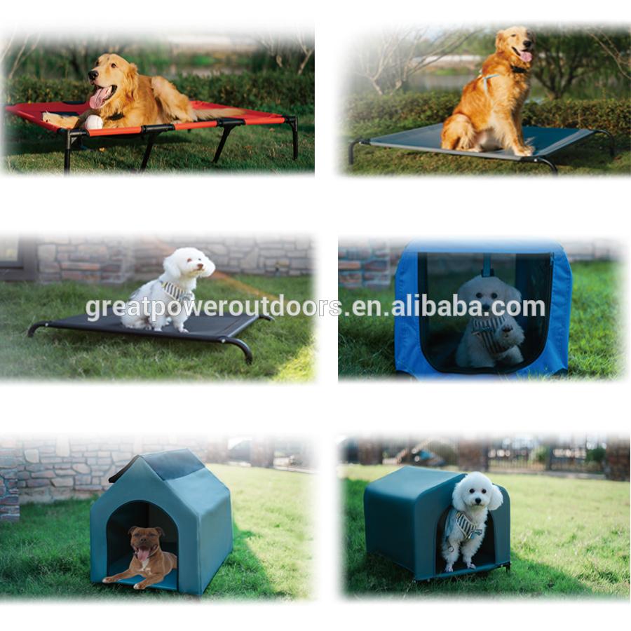 De Lujo suave elevada accesorios para mascotas cama de perro cojín del animal doméstico