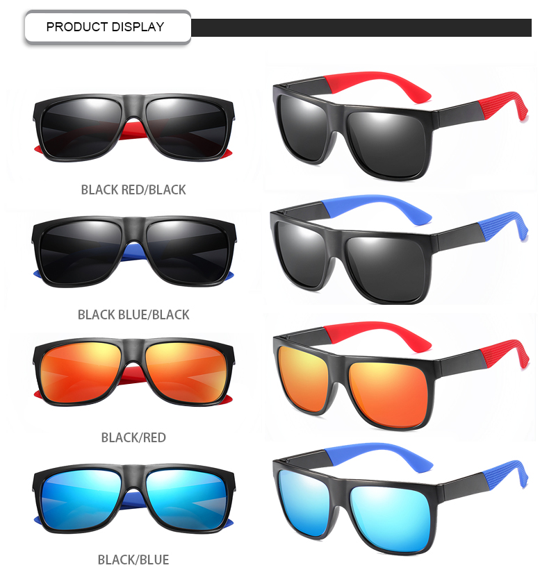 Fuqian men folding sunglasses fashion design for running-15