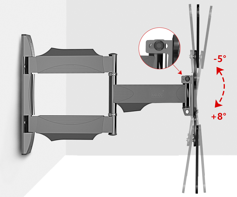 <strong>Swivel</strong> Tilt Full Motion <strong>TV</strong> Wall <strong>Bracket</strong> with Long Arm for Flat Panel Screen 32 to 55 inch <strong>TV</strong> Size max vesa 400*400