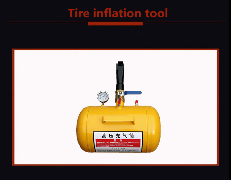Tyre Inflation Gun Used For Vehicle Pressure Test Tool Tire Pressure Gauge Inflator Gun Digital Pressure Gauge
