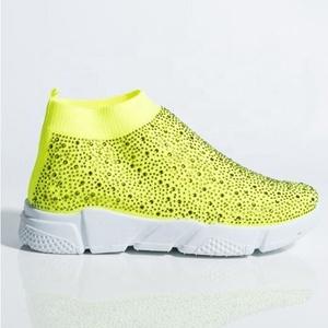 Casual shoes women sneakers rhinestone socks sneakers ladies shoes 2020