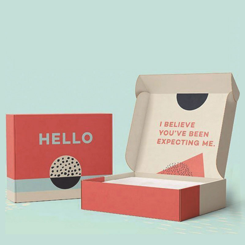 Можно перерабатывать на заказ Крафт Упаковка Красивая цветная бумага подарочная упаковка почтовая коробка