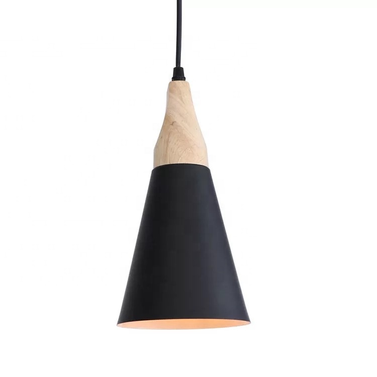 Northern Europe E27 E26 iron macron black indoor pendant light fixture,industrial hanging light for outdoor