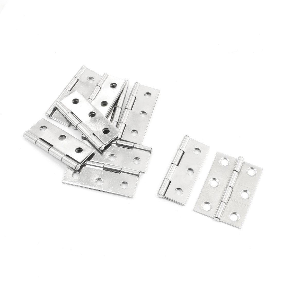 Iron plate galvanized cheap metal buffer automatic door hinge