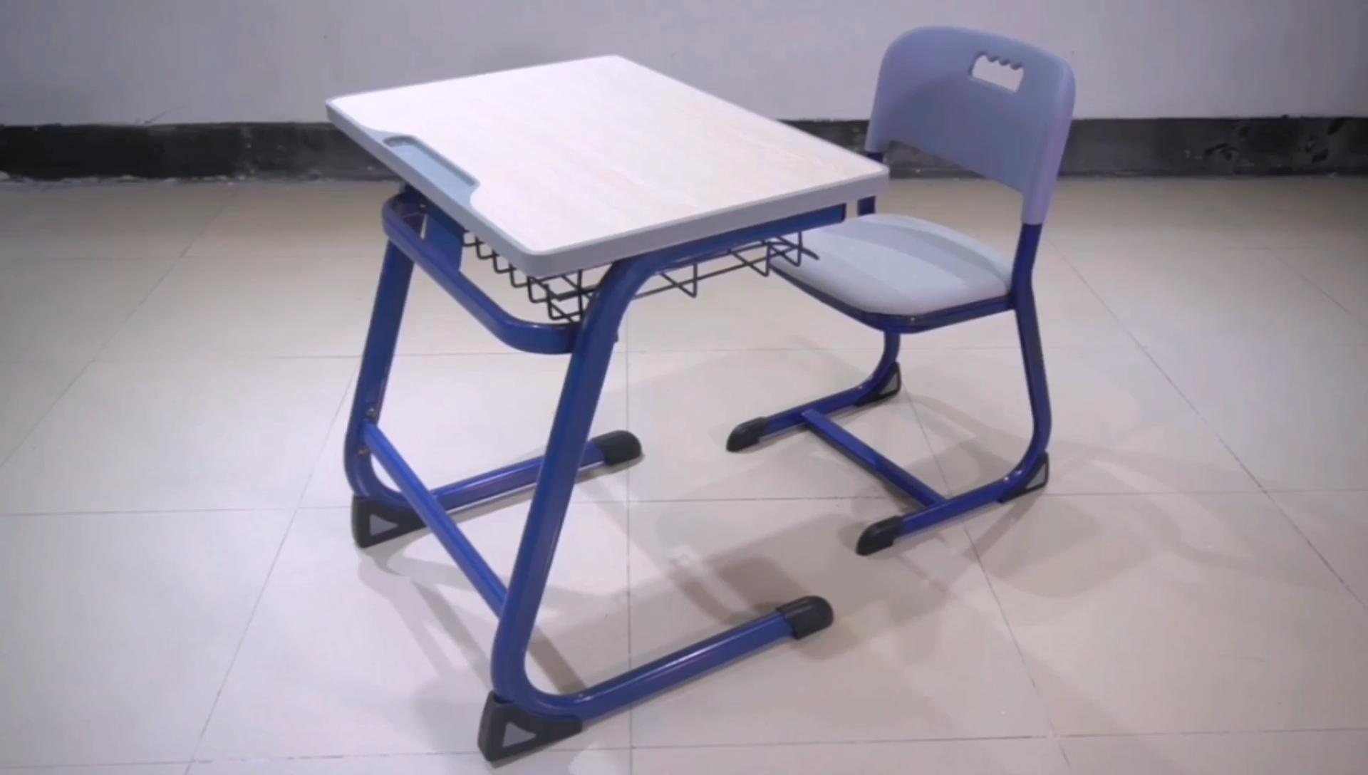 Hot Koop Aangepaste School Meubels Enkele Student Bureau Ontwerp Voor Klaslokaal Gebruikt