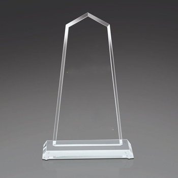Manufactured Custom Clear Acrylic Trophy Acrylic Award