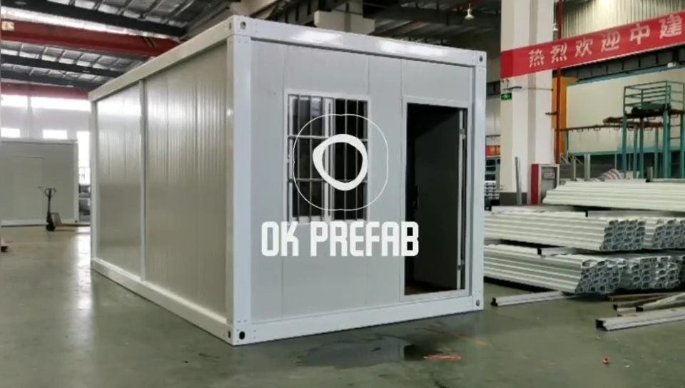 China Supplier Low Cost Prefab Modular Container House