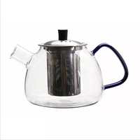High Borosilicate Glass Teapot Pyrex Glass Tea Infuser Pot
