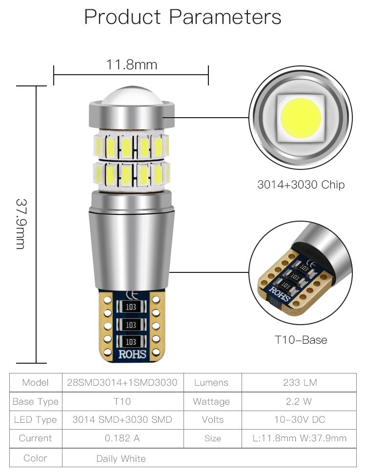 China Manufaktur 233LM t10 umge led repl_e halogen lampe fernbedienung SX128