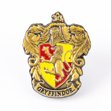 Nach <span class=keywords><strong>3D</strong></span> Metall Revers Pin Harry Potter Anime abzeichen Emaille pin Abzeichen