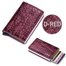 DIENQI 2020 новые кожаные кошельки с rfid-картой, мужской модный минималистичный тонкий бумажник, мужской кошелек, кошелек, волшебный кошелек, мини...(Китай)
