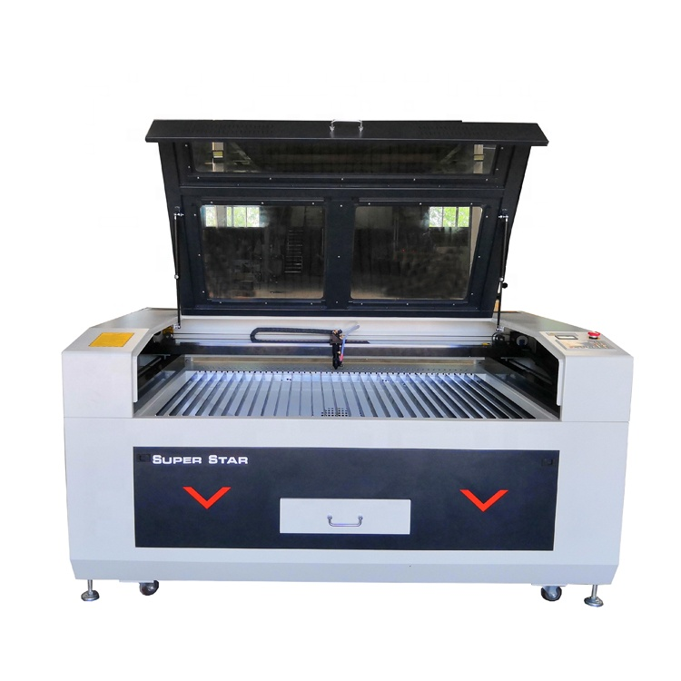 1390 80W CO2 Cnc <strong>Laser</strong> Cutter , <strong>Laser</strong> Cutting Machine for Acrylic , Leather , Rubber