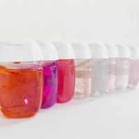 Promotional Hand Lotions Sanitizer Gel With Fruit Flavors
