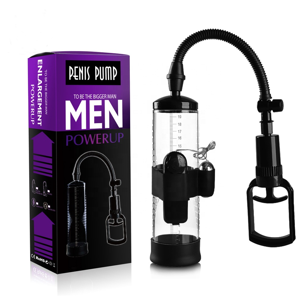 Hot Sale Aircraft <strong>Cup</strong> Men's Auxiliary Penis Exercise Pump Penis dick Root Massager Vacuum Vibration Penis Enlargment Pump