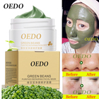 OEDO Skin Care Natural Organic Acne Treatment Deep Cleansing Purifying Peel Off Repair Mung Bean Face Mask