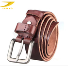 Belt manufacturers wholesale custom pure original leather cowboy man belt