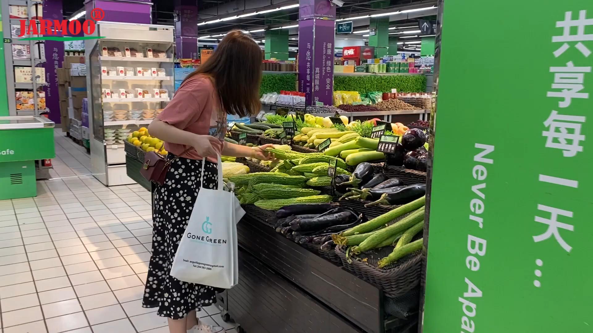 染料昇華カスタムプリントエコ溶剤再利用可能なショッピングトートバッグ