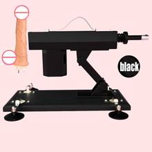Мощная секс-машина для женской мастурбации, насосная пушка с насадками для фаллоимитаторов, автоматические секс-машины для женщин, секс-тов...(Китай)