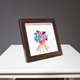 Wholesale family decoration PS square table standing picture photo frame