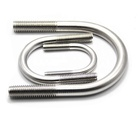 100% 304 SS316 Stainless Steel Clamp U Bolts