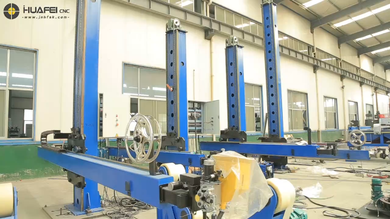 Automatic Column and Boom Welding Manipulator For Sale