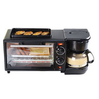 Factory Direct 3-in-1 10L Multifunction Breakfast electrical oven with Rotisserie and Grill