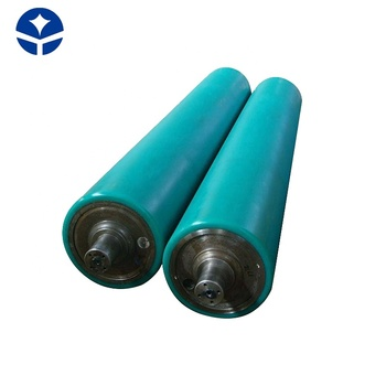 Self - defined belt conveyor rubber roller