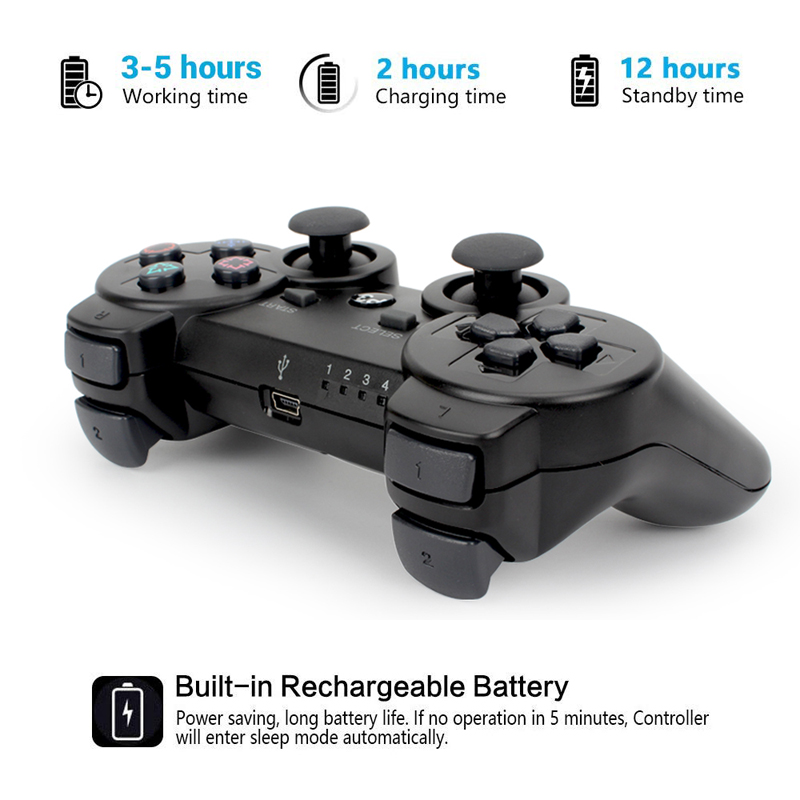 Draadloze Bluetooth Gamepad joystick Voor PS3 controller Voor game pads voor Playstation 3