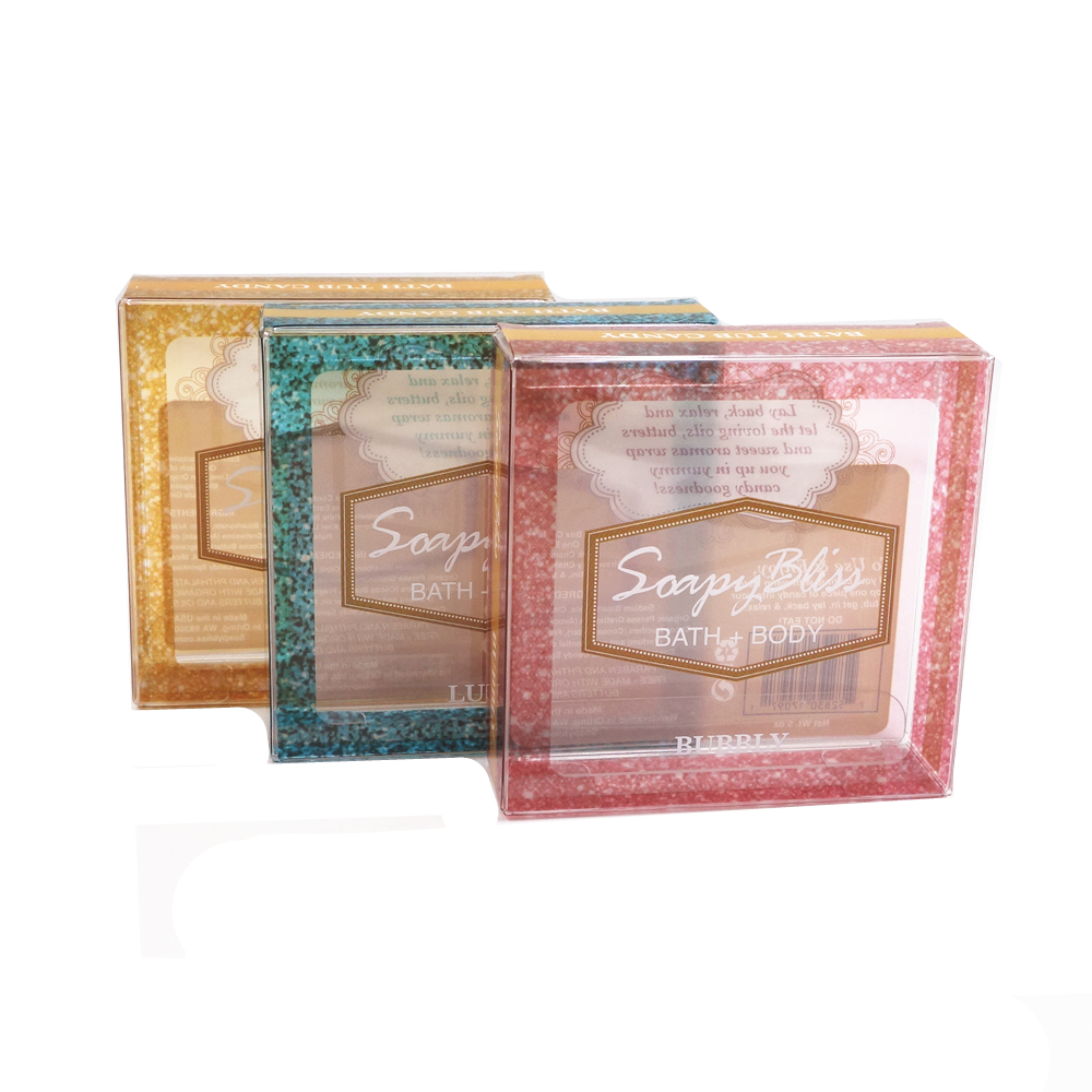 Plastic clear candy box verpakking