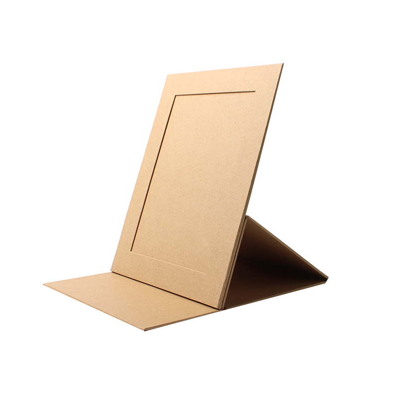 "5x7"" Simple Style Cardboard Rigid Craft Paper Mount For Photo Frame"