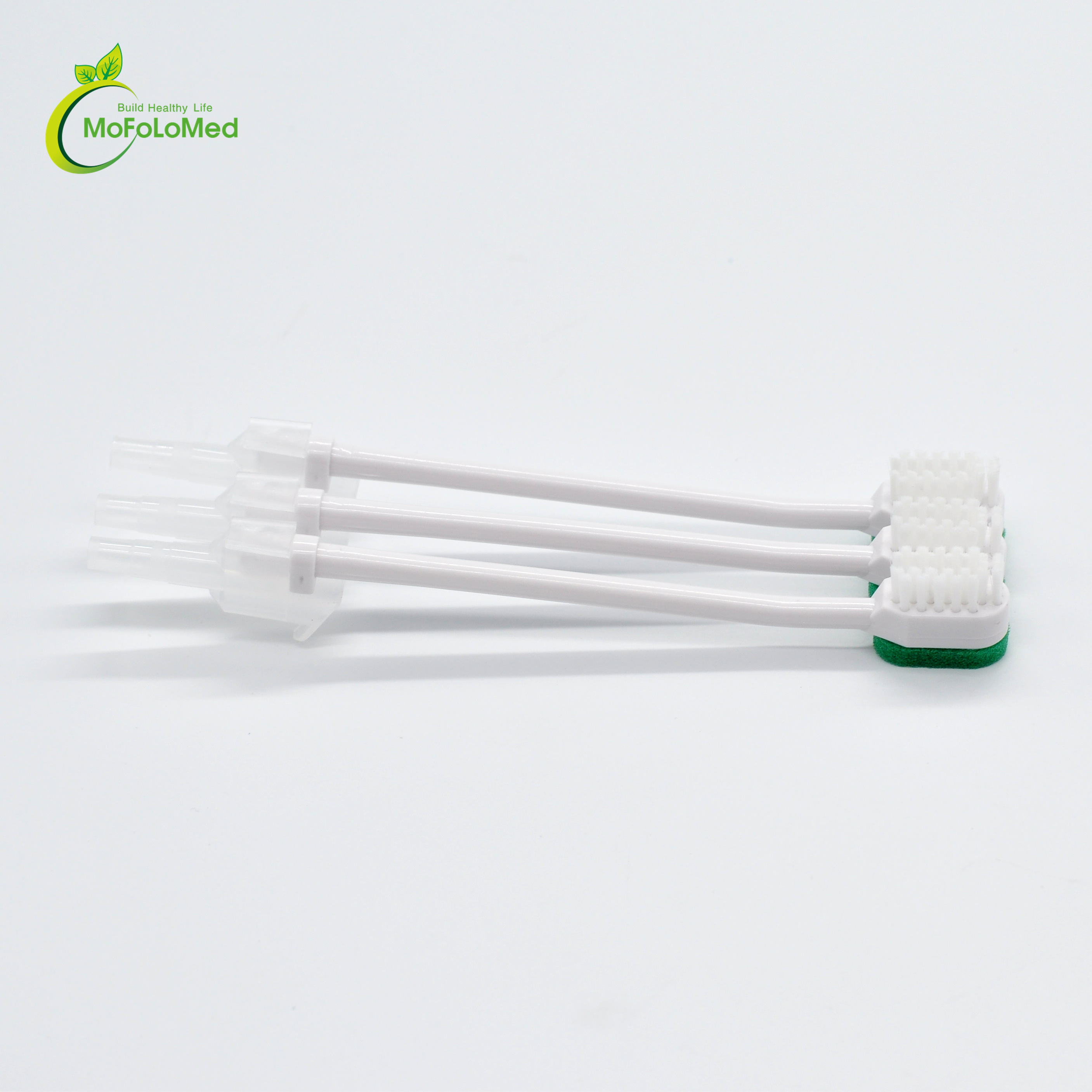 Using easily Disposable medical foam tip suction sponge oral care swab factory price <strong>protect</strong> gum CE ISO